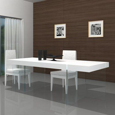Wade Logan Domenica Modern Dining Table (View 23 of 25)