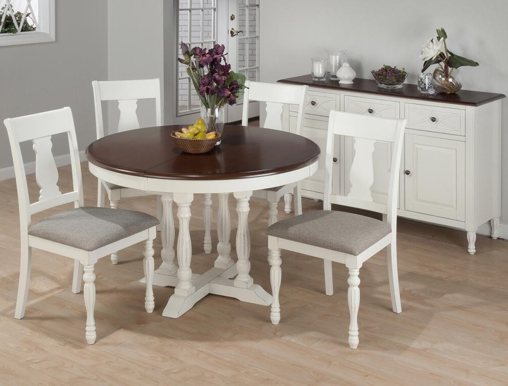 Warnock Butterfly Leaf Trestle Dining Tables Pertaining To Fashionable Round Dining Table With Butterfly Leaf – Ideas On Foter (View 22 of 25)