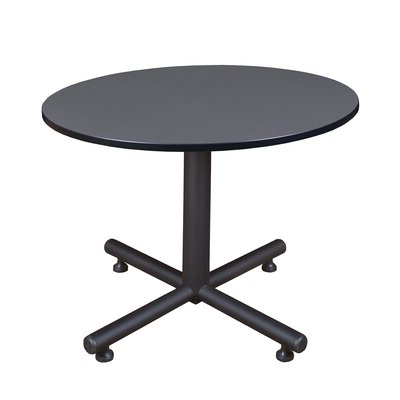 """Featured Photo of Bentham 47"""" L Round Stone Breakroom Tables"""