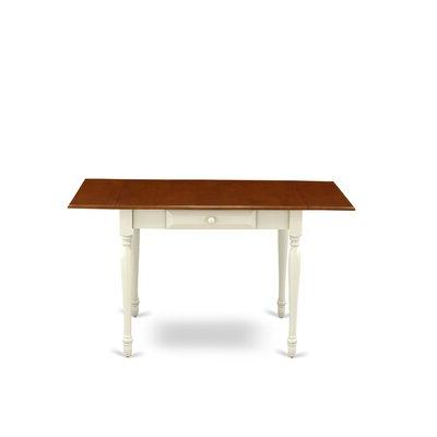 Wayfair Inside Villani Drop Leaf Rubberwood Solid Wood Pedestal Dining Tables (View 13 of 25)