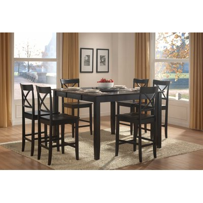 Wayfair Pertaining To Most Current Nakano Counter Height Pedestal Dining Tables (View 14 of 25)