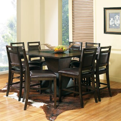 Wayfair Throughout Popular Romriell Bar Height Trestle Dining Tables (View 4 of 25)