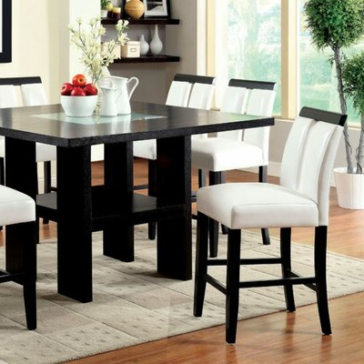 Wayfair Within Andreniki Bar Height Pedestal Dining Tables (View 8 of 25)
