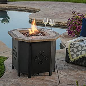 Well Known 3 Games Convertible 80 Inches Multi Game Tables Within Amazon : Great Deal Furniture Myrtle Outdoor 30 Inch (View 21 of 25)