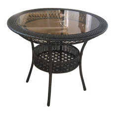 Well Known 50 Most Popular Glass Top Outdoor Dining Tables For 2020 Regarding Isak (View 14 of 25)