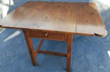 Well Known Adams Drop Leaf Trestle Dining Tables With Regard To Ethan Allen Dining Tables With Drop Leaf For Sale (View 11 of 25)