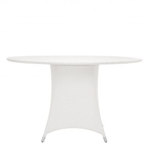 Well Known Amari Fully Woven Dining Table Round 130 – Janus Et Cie For Naz (View 18 of 25)