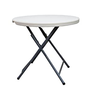 Well Known Amazon: Coleman C11tm387 Round Blow Molded Plastic Within Mcmichael 32'' Dining Tables (View 15 of 25)