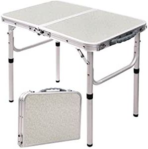 Well Known Amazon: Redswing Small Folding Table Portable 2 Feet With Crilly (View 19 of 25)