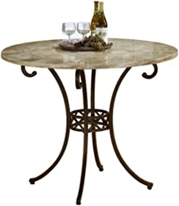 Well Known Barra Bar Height Pedestal Dining Tables Within Amazon: Hillsdale Brookside Counter Height Dining (View 23 of 25)