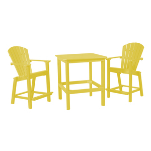 Well Known Bechet 38'' Dining Tables Inside Classic 38 Inch High Dining Table With Two 26 Inch High (View 19 of 25)