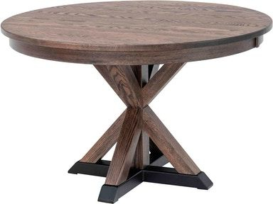 """Well Known County Line Dining Room Zack 42"""" Butterfly Table Cl6890 Regarding Haddington 42'' Trestle Dining Tables (View 13 of 25)"""