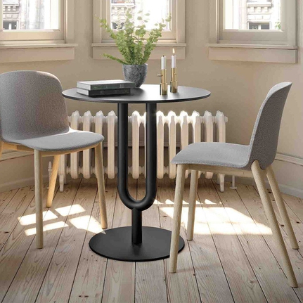 Well Known Diapason Dining Table – The Contact Chair Company For Andreniki Bar Height Pedestal Dining Tables (View 6 of 25)