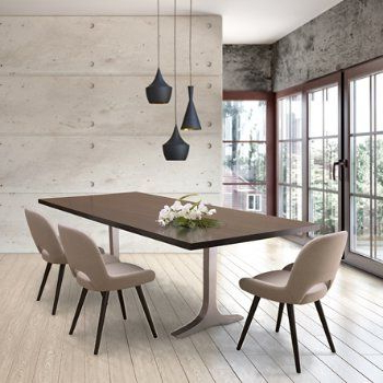 Well Known Gaspard Maple Solid Wood Pedestal Dining Tables Intended For Paxton Dining Table (View 19 of 25)