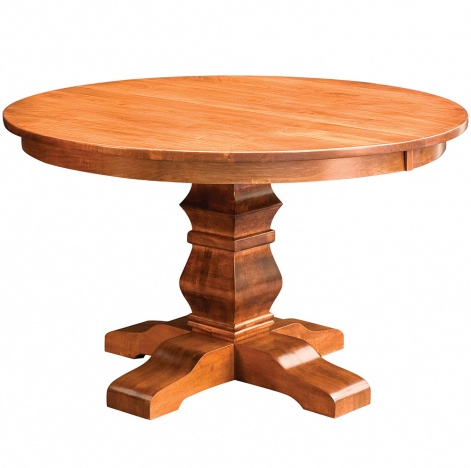Featured Photo of Gaspard Maple Solid Wood Pedestal Dining Tables