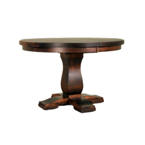 Well Known Geneve Maple Solid Wood Pedestal Dining Tables Pertaining To Pedestal Tables – Solid Wood, Canadian Made Furniture I (View 12 of 25)
