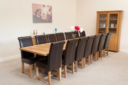 Well Known Large 12 14 Seater Oak Extending Dining Table (View 20 of 25)