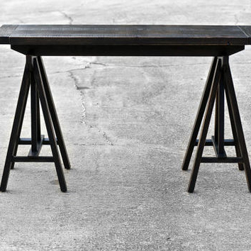 Well Known Minerva 36'' Pine Solid Wood Trestle Dining Tables With Regard To Best Trestle Table Products On Wanelo (View 21 of 25)