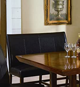 Well Known Nalan 38'' Dining Tables Inside Amazon: Salem Hi Back Bench 38''hcrown Mark (View 9 of 25)