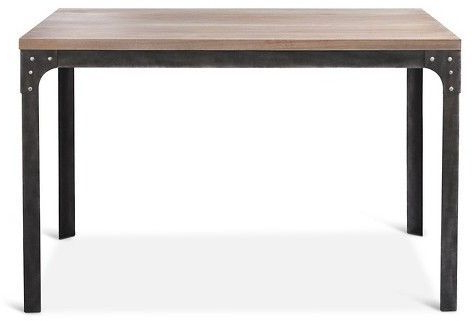 """Well Known Nazan 46'' Dining Tables Within Franklin 48"""" Dining Table – Weathered Gray – Threshold (View 4 of 25)"""