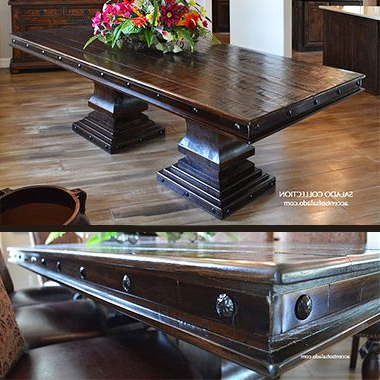 Well Known Rustic Dining Room Table (View 21 of 25)