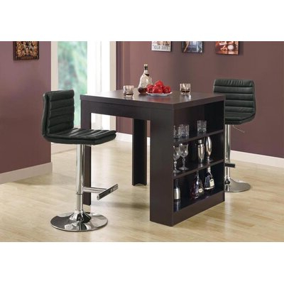 Well Known Zipcode™ Design Robin Counter Height Dining Table With Romriell Bar Height Trestle Dining Tables (View 5 of 25)