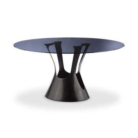 Well Liked Collis Round Glass Breakroom Tables Regarding Pin艺奴 On 餐桌 (View 25 of 25)