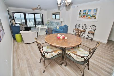 Well Liked Family Friendly Direct Oceanfront Beach Condo With For Yaqub 39'' Dining Tables (View 19 of 25)