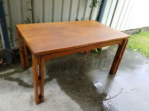 Well Liked Febe Pine Solid Wood Dining Tables Regarding Solid Pine Dinning Table Plus 4 Chairs (View 5 of 25)