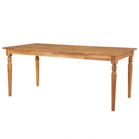 Well Liked Folcroft Acacia Solid Wood Dining Tables In Outdoor Dining Table 170x90x75 Cm Solid Acacia Wood (View 9 of 25)