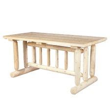 Well Liked Gorla 39'' Dining Tables Inside Cedar Harvest Family Dining Table (View 13 of 25)