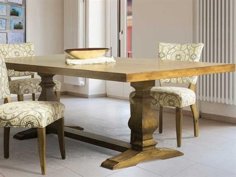 "Well Liked Hekman Urban Retreat Khaki (light) Round Dining Table Regarding Murphey Rectangle 112"" L X 40"" W Tables (View 10 of 25)"