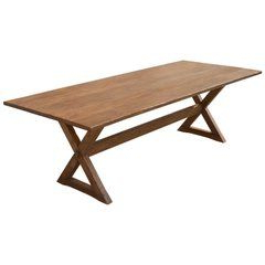 Well Liked Leonila 48'' Trestle Dining Tables Regarding Black Walnut Trestle Table, Custom Madepetersen (View 12 of 25)