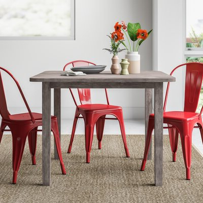Wes Counter Height Rubberwood Solid Wood Dining Tables Inside Most Popular Modern Kitchen + Dining Tables (View 7 of 25)