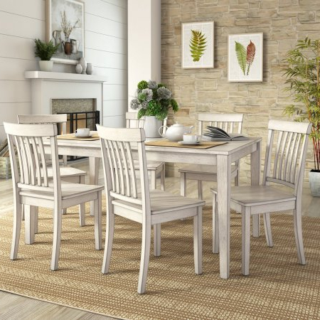Weston Home Lexington 7 Piece 60 Inch Dining Table Set Throughout Most Recently Released Nalan 38'' Dining Tables (View 13 of 25)