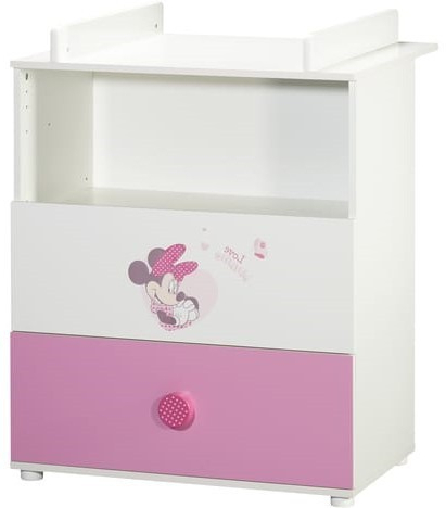 """Widely Used Baby Price – Commode Bébé 2 Tiroirs Avec Plan À Langer With Mode 72"""" L Breakroom Tables (View 10 of 25)"""