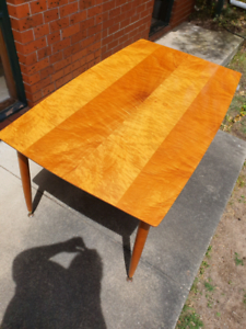 Widely Used Benji 35'' Dining Tables Within Antique 1960s Polished Wood Dining Table (View 15 of 25)