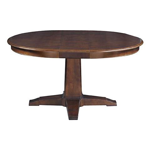 """Widely Used Custom Dining 48"""" Round Pedestal Table (with Images Within Corvena 48'' Pedestal Dining Tables (View 2 of 25)"""