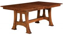 Widely Used Genoa Butterfly Leaf Dining Table – Countryside Amish With Warnock Butterfly Leaf Trestle Dining Tables (View 2 of 25)