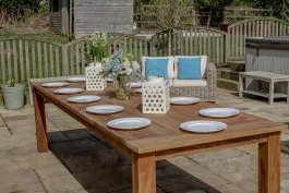 Widely Used Gorla 39'' Dining Tables Regarding Reclaimed Teak Open Slatted Dining Table 3m – Sustainable (View 19 of 25)