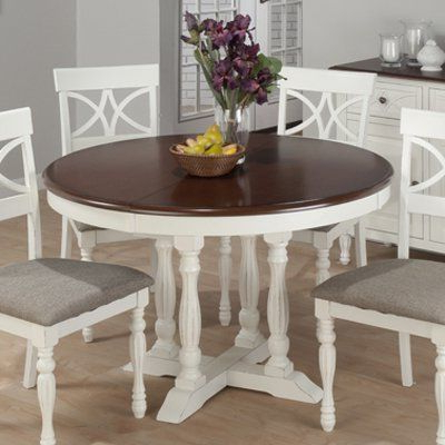 Widely Used Jofran 693 48 Chesterfield Tavern Round To Oval Butterfly With Dawid Counter Height Pedestal Dining Tables (View 13 of 25)