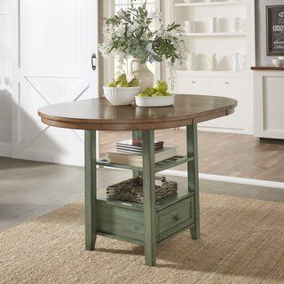 Widely Used Liesel Bar Height Pedestal Dining Tables For Eleanor Solid Wood Oval Extendable Counter Height Pedestal (View 9 of 25)