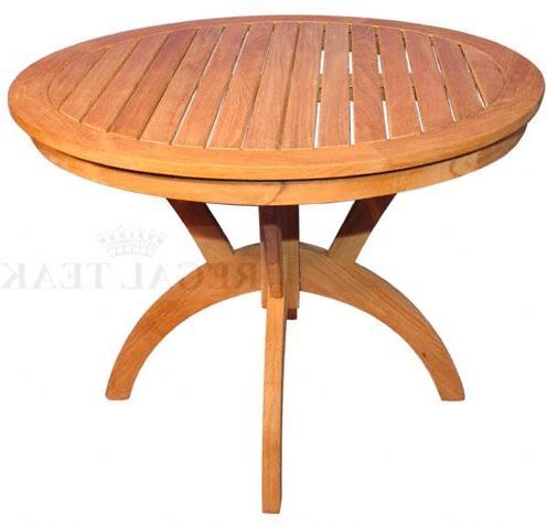 """Widely Used Pevensey 36'' Dining Tables Intended For Regal Teak 36"""" Root Design Dining Table (View 25 of 25)"""