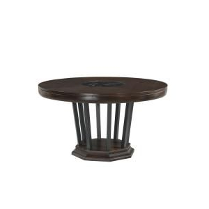 Wilkesville 47'' Pedestal Dining Tables For Most Popular Armen Living Cirque 54 In (View 14 of 25)