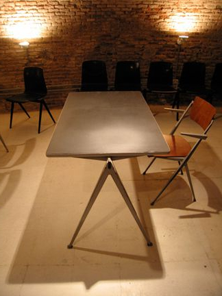 Wim Rietveld Pyramid Table : Schneider Colao : Studio Throughout Fashionable Clennell (View 21 of 25)