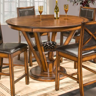 Wooden Dining Room Chairs For Well Known Eduarte Counter Height Dining Tables (View 18 of 25)