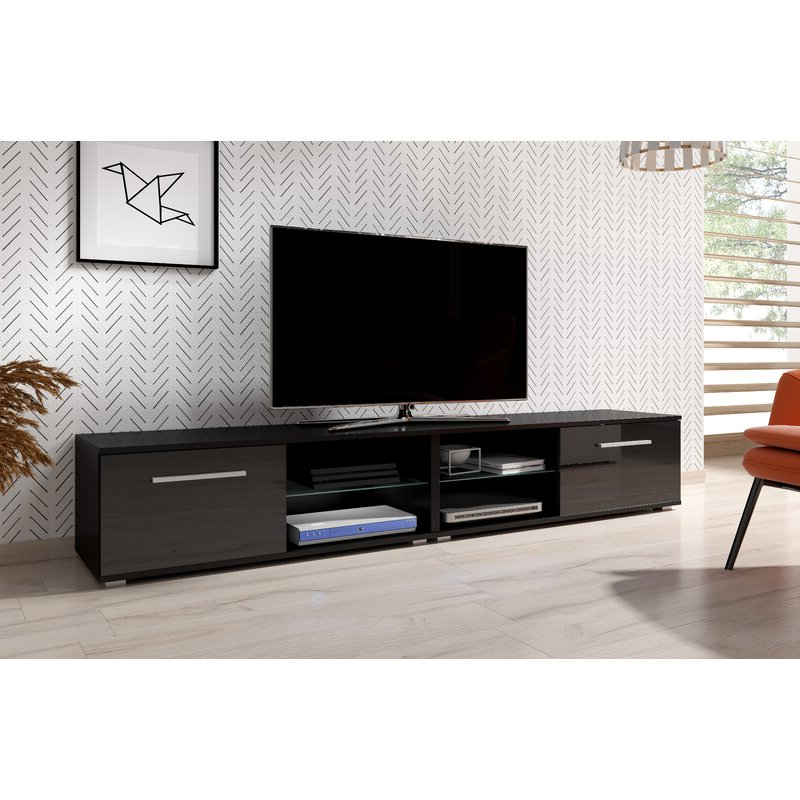 """17 Stories Twombly Tv Stand For Tvs Up To 65"""" & Reviews For Famous Tv Stands For Tvs Up To 65"""" (View 13 of 22)"""
