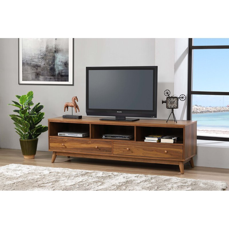 """2017 Corrigan Studio® Sheperd Tv Stand For Tvs Up To 78 Within Tenley Tv Stands For Tvs Up To 78"""" (View 10 of 25)"""