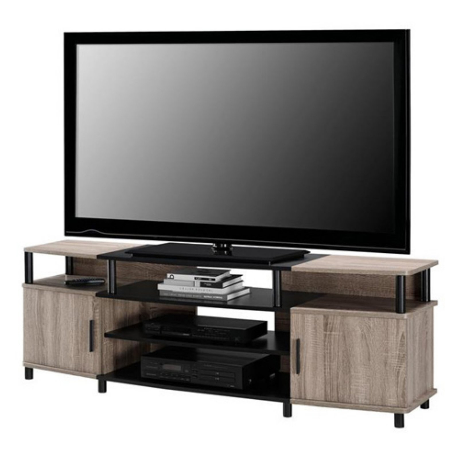 """2017 Mainstays Tv Stands For Tvs With Multiple Colors With Ameriwood Home Carson Tv Stand For Tvs Up To 70"""", Multiple (View 3 of 10)"""