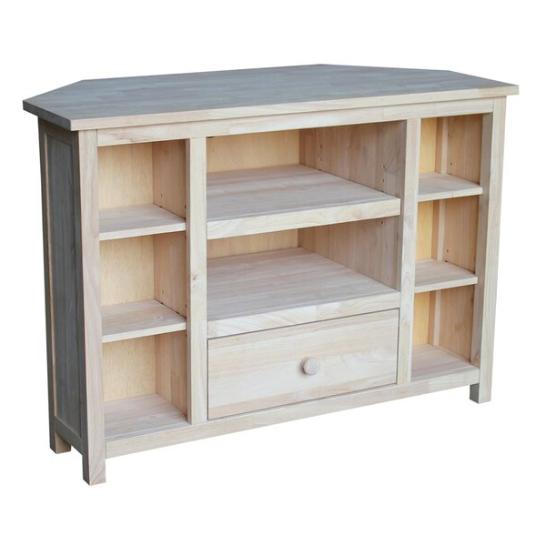 """2017 Orrville Tv Stands For Tvs Up To 43"""" Regarding Gracie Oaks Aarae Solid Wood Tv Stand For Tvs Up To  (View 17 of 25)"""